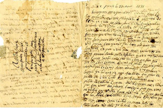 Part of the Diniacopoulos Family fonds: A fabulous travel diary from 1831 by an unknown author.