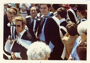 A photo taken at Denis Diniacopoulos' graduation from Loyola College