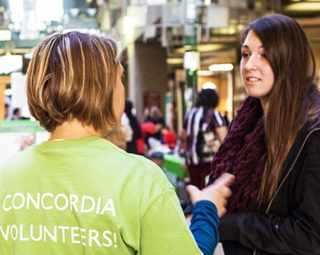 Hands up! Concordia's Volunteer Fair is an opportunity to sharpen your skills