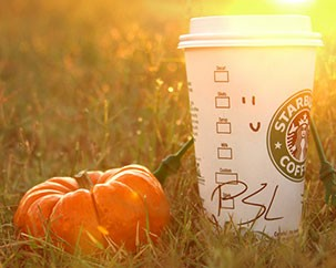 Oh My Gourd: it's a pumpkin spice world