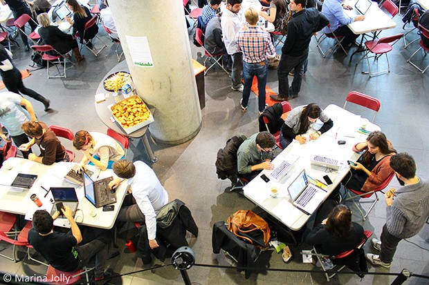 A previous hackathon brought IT and environmentalism together.