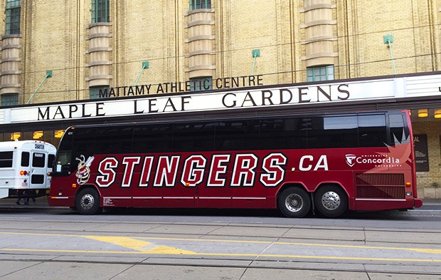 The Stingers are in town! | Photo by Steve Beisswanger