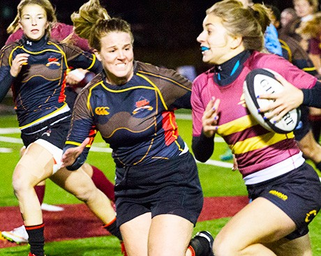 Stingers women's rugby: championship bound