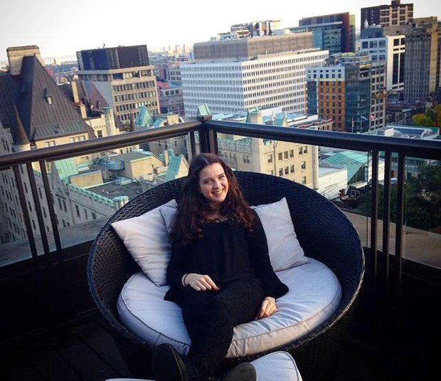 """In Montreal, I discovered new cultures through my friends who come from all different parts of the world, and I love that,"" says Alison Bertho, a second-year journalism major, who came to Concordia from Paris."