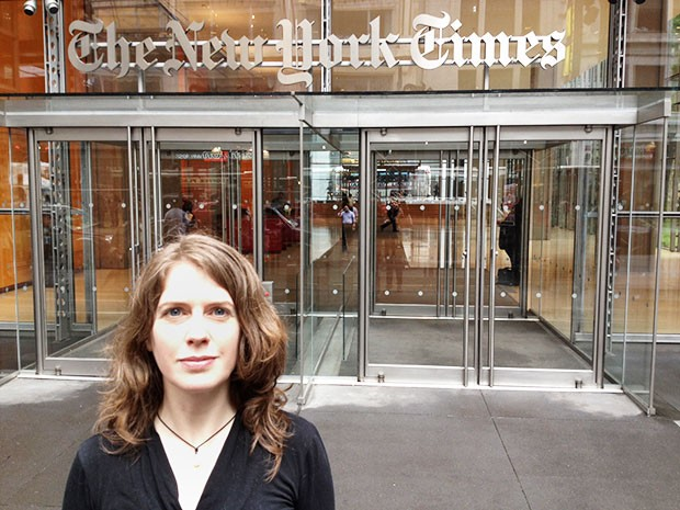 Journalist for the New York Times?