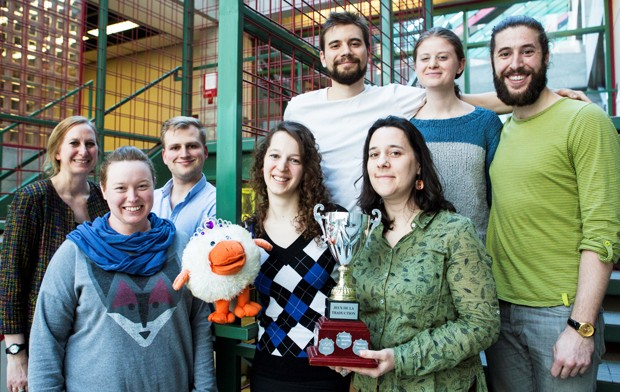 A winning tradition: last year, Concordia's team of translators was the first in the 10-year history of the Jeux de la Traduction to win all of the competition's individual and team prizes.