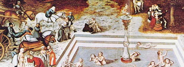The Fountain of Youth, a 1546 painting by Lucas Cranach the Elder