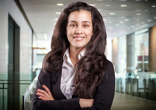 """I really wanted to apply my theories in an exciting business setting,"" says Sandra Maria Nawar, a master's candidate at Concordia who participated in the Mitacs program. 