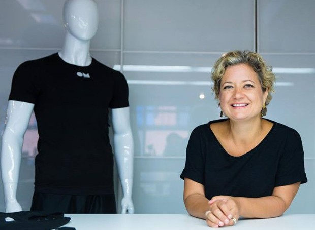 """How can we embed computation in textiles rather than attach devices to our bodies?"" asks Joanna Berzowska, research director of XS Labs. 