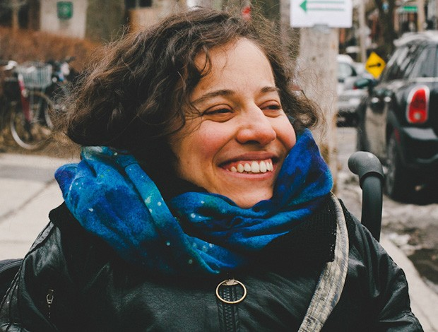 Laurence Parent's exclusion from Montreal's public transit system led her to pursue critical disability studies and activism. | Photo by Magdelena Olszanowski