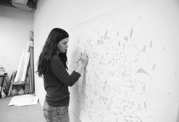 "For Rebecca Munce, a summer artist residency ""is the ideal situation."""