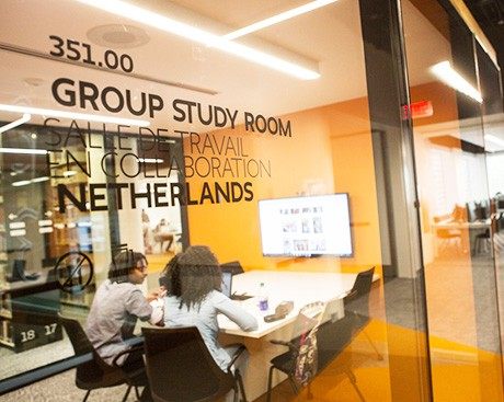 Need to ace that team assignment? Book a group study room today!