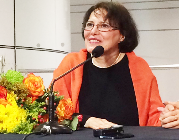 Homa Hoodfar: 'I've had a bitter seven months.' | Photo courtesy: Claire Loewen of The Link