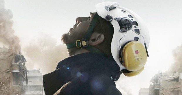 The White Helmets are a group of 3,000 volunteers who work to save lives and strengthen communities in Syria.