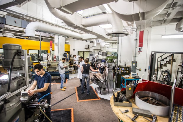 Concordia's Mechanical and Industrial Engineering labs