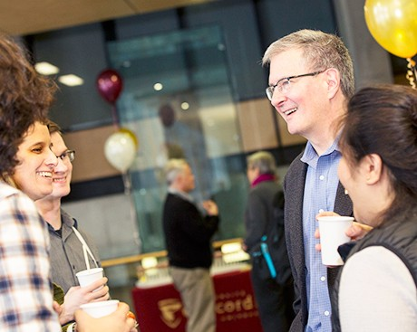 Concordia's president is hosting 2 informal get-togethers