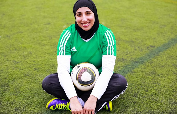 Shireen Ahmed, creator of the Tales from a Hijabi Footballer blog, will be one of the speakers at the event. | Photo by Zena Chaudhry
