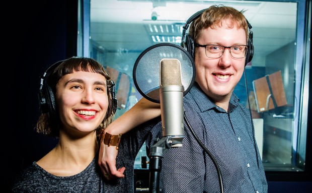 Simone Lucas and Aaron Lakoff, MA students in Media Studies, are producing the second season of the Beyond Disciplines podcast.
