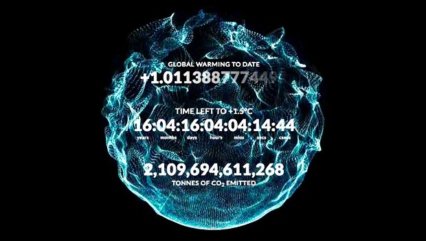 The Climate Clock