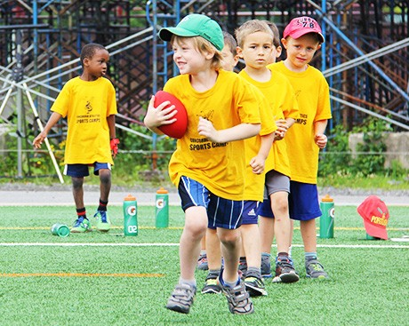 Concordia's summer sports camps: building skills and having fun