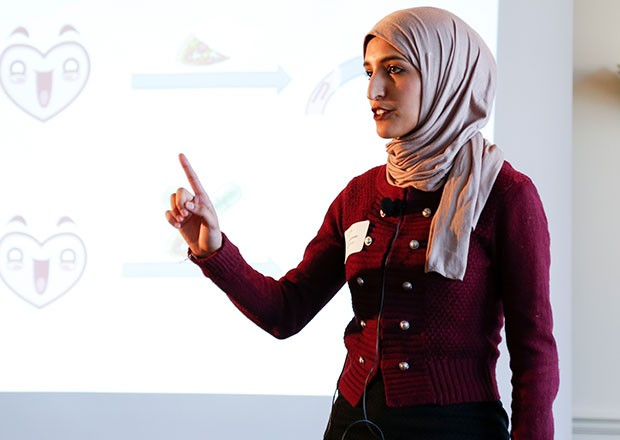 "Deema Galambo: ""3MT is a form of training that I would not get anywhere else."""