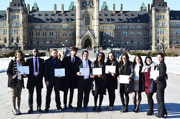 Concordia's Model United Nations (CONMUN) won 25 awards this academic year. | Photo courtesy of CONMUN