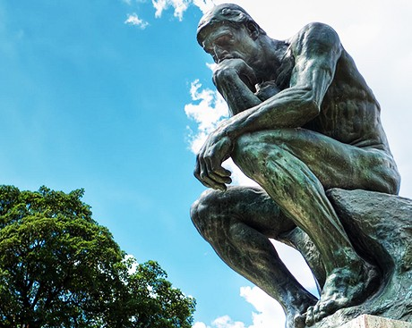 What's the key to being a critical thinker?