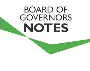 The Board of Governors approves a number of new appointments and reappointments