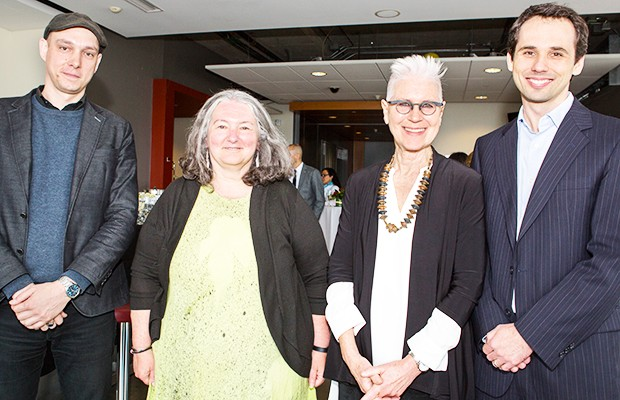 From left: Brandiff Caron, Rosemary Reilly, Bonnie Baxter and Krzysztof Skonieczny