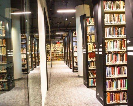 The Webster Library's 4th floor book collection returns this fall