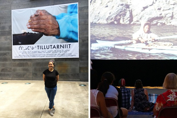 "Curator Isabella Weetaluktuk: ""It's wonderful to have an event that's specifically inviting for Inuit."" 