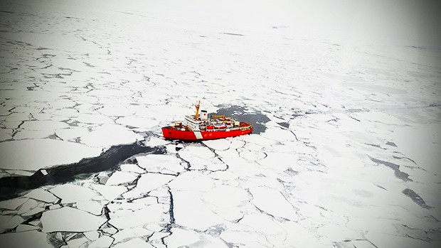"Arthi Ramachandran: ""The Arctic sea ice extent and depth is lower than ever."" 