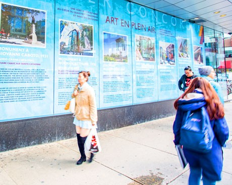 A century of public art in Quartier Concordia