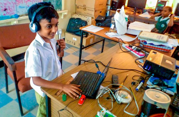 A Partnership grant was awarded earlier this year for an initiative designed to improve teaching and learning outcomes through educational technology in Sub-Saharan Africa. | Image courtesy of CSLP