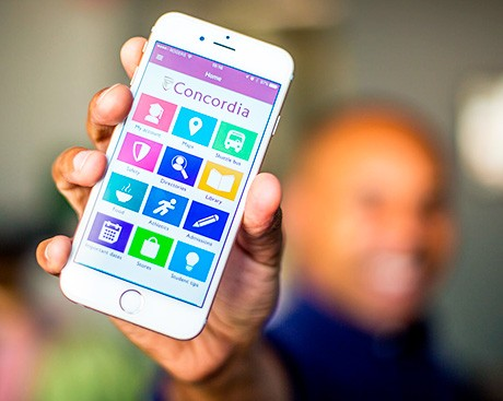 From instant accounting to shuttle-bus ETAs: the Concordia app is evolving!