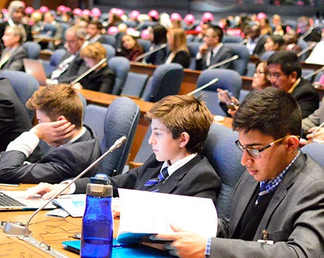 Concordia Model UN takes on sky-high challenges