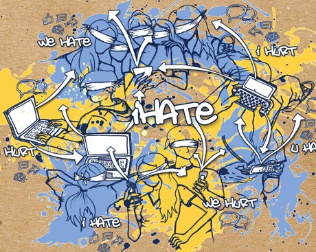 'Hate speech crosses the spectrum'