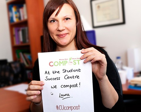 Concordia's Waste Not, Want Not campaign aims to complete the compost cycle on campus