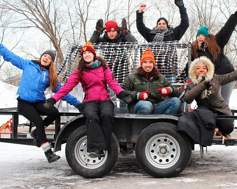 Sliding to victory! Concordia's concrete toboggan team is off to Edmonton