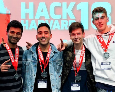 First-year Concordia software engineering students win big at the Harvard University hackathon