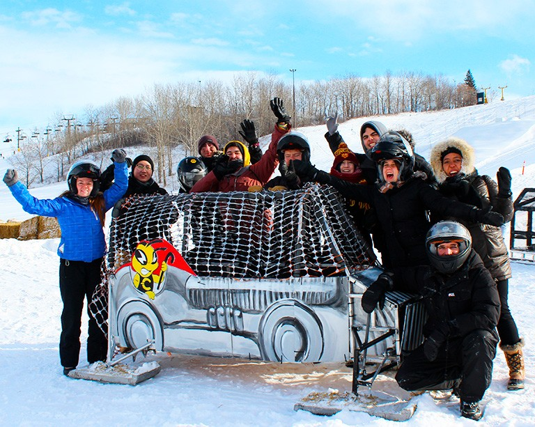 'Small but mighty': Concordia comes up big at the Great Northern Concrete Toboggan Race