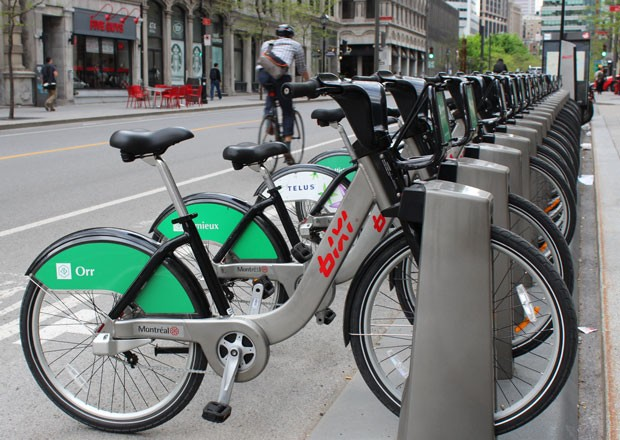 BIXI stations should be up and loaded with bikes on both Concordia campuses before the end of April.