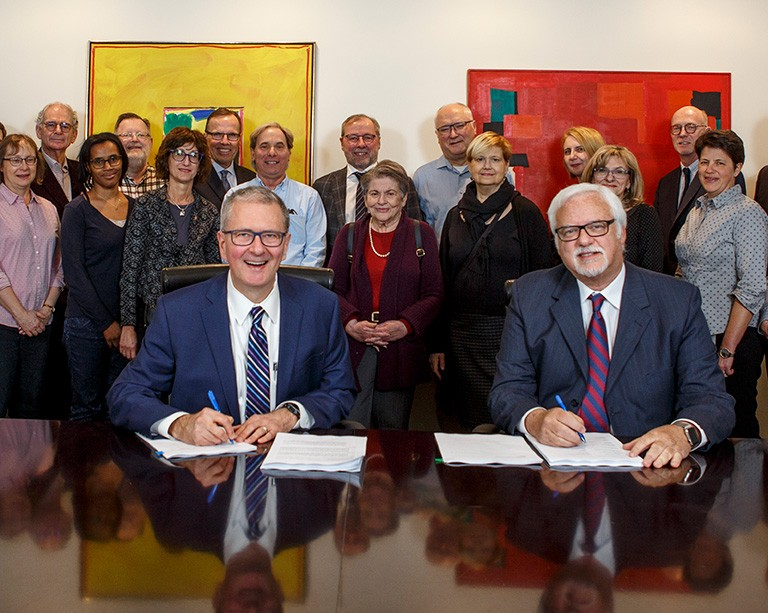 Concordia's full-time faculty sign a new agreement with the university