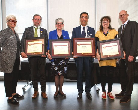 9 Concordia faculty are honoured for their academic leadership, career achievements and mentorship