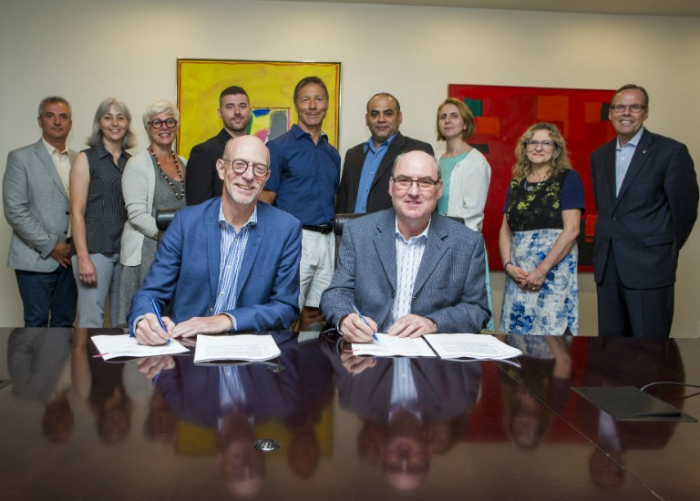Concordia's Technical Sector Support Staff sign a new agreement with the university