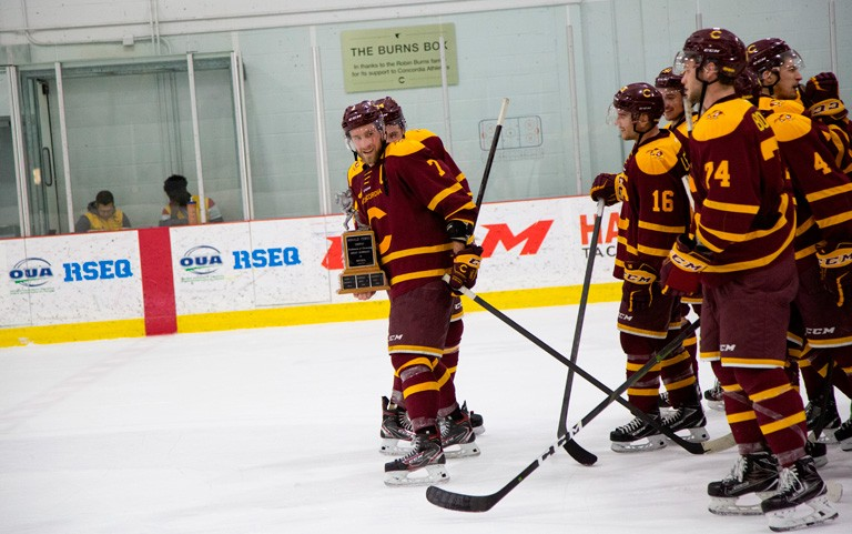The 33rd annual Corey Cup showdown on October 26 pits Concordia's men's hockey team against McGill.