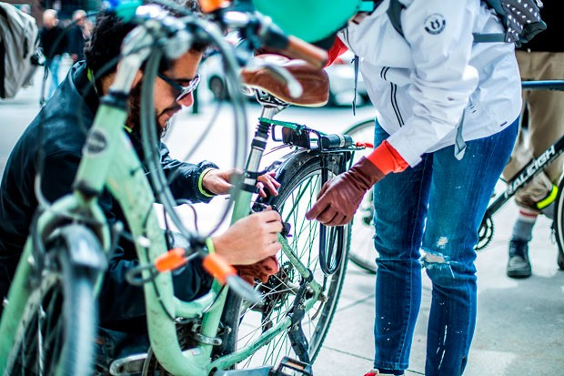 The Winter Cycling workshop on September 24 is just one of the many activities offered during the week.