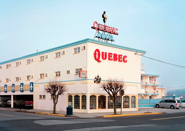 """Quebec Motel"" by Matthew Brooks, 2018."