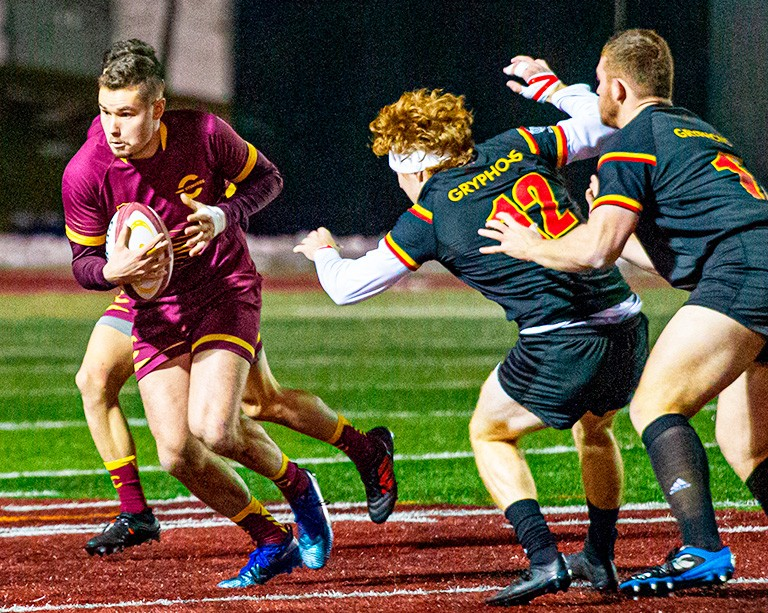 Stingers advance to the semifinals in the Canadian University Men's Rugby Championship