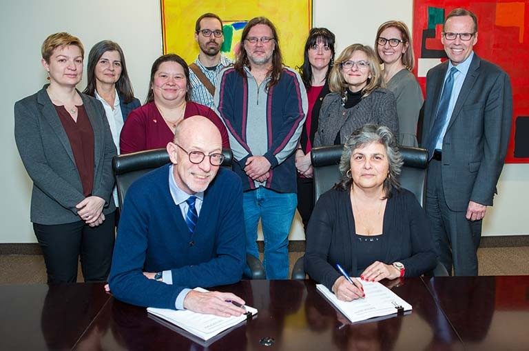 Concordia University Support Staff Union signs a new agreement with the university